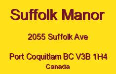 Suffolk Manor 2055 SUFFOLK V3B 1H4