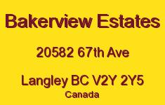 Bakerview Estates 20582 67TH V2Y 2Y5