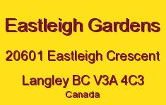 Eastleigh Gardens 20601 EASTLEIGH V3A 4C3