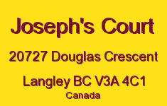 Joseph's Court 20727 DOUGLAS V3A 4C1