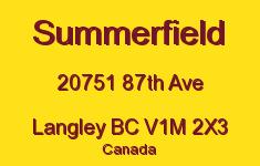 Summerfield 20751 87TH V1M 2X3