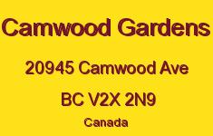 Camwood Gardens 20945 CAMWOOD V2X 2N9