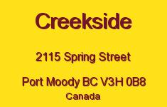 Creekside 2115 SPRING V3H 0B8