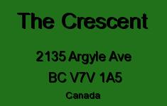 The Crescent 2135 ARGYLE V7V 1A5