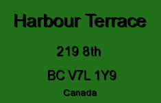 Harbour Terrace 219 8TH V7L 1Y9