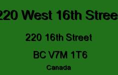 220 West 16th Street 220 16TH V7M 1T6