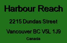 Harbour Reach 2215 DUNDAS V5L 1J9