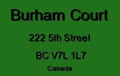 Burham Court 222 5TH V7L 1L7