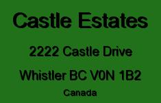 Castle Estates 2222 CASTLE V0N 1B2