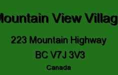 Mountain View Village 223 MOUNTAIN V7J 3V3