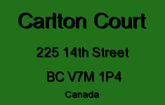 Carlton Court 225 14TH V7M 1P4