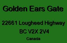 Golden Ears Gate 22661 LOUGHEED V2X 2V4