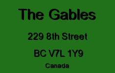 The Gables 229 8TH V7L 1Y9