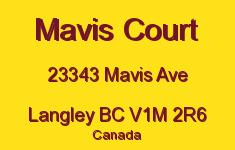 Mavis Court 23343 MAVIS V1M 2R6