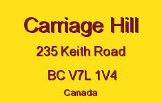 Carriage Hill 235 KEITH V7L 1V4