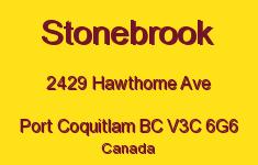 Stonebrook 2429 HAWTHORNE V3C 6G6