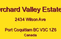 Orchard Valley Estates 2434 WILSON V3C 1Z6