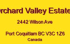 Orchard Valley Estates 2442 WILSON V3C 1Z6