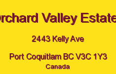 Orchard Valley Estates 2443 KELLY V3C 1Y3