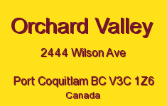 Orchard Valley 2444 WILSON V3C 1Z6