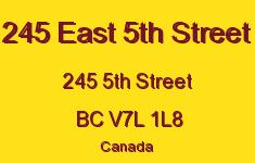 245 East 5th Street 245 5TH V7L 1L8