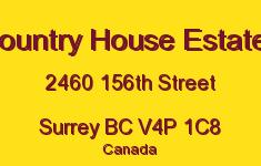 Country House Estates 2460 156TH V4P 1C8