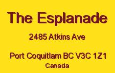 The Esplanade 2485 ATKINS V3C 1Z1