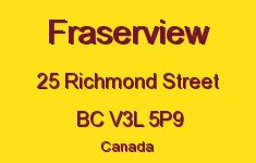 Fraserview 25 RICHMOND V3L 5P9