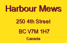 Harbour Mews 250 4TH V7M 1H7