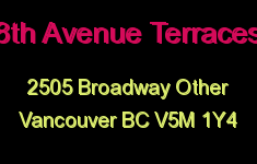 8th Avenue Terraces 2505 BROADWAY V5M 1Y4