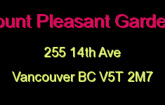 Mount Pleasant Gardens 255 14TH V5T 2M7