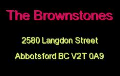 The Brownstones 2580 LANGDON V2T 0A9