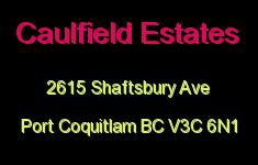 Caulfield Estates 2615 SHAFTSBURY V3C 6N1