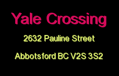 Yale Crossing 2632 PAULINE V2S 3S2