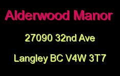 Alderwood Manor 27090 32ND V4W 3T7