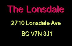 The Lonsdale 2710 LONSDALE V7N 3J1
