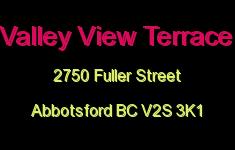 Valley View Terrace 2750 FULLER V2S 3K1