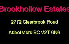 Brookhollow Estates 2772 CLEARBROOK V2T 6N6