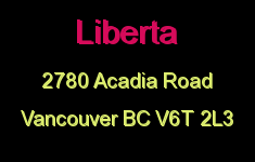 Liberta 2780 ACADIA V6T 2L3