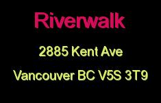 Riverwalk 2885 KENT V5S 3T9