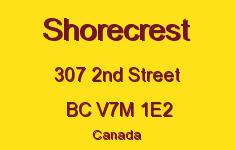 Shorecrest 307 2ND V7M 1E2