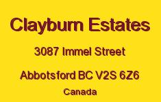 Clayburn Estates 3087 IMMEL V2S 6Z6