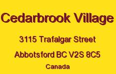 Cedarbrook Village 3115 TRAFALGAR V2S 8C5
