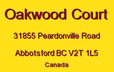 Oakwood Court 31855 PEARDONVILLE V2T 1L5