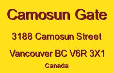 Camosun Gate 3188 CAMOSUN V6R 3X1