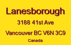 Lanesborough 3188 41ST V6N 3C9