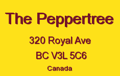 The Peppertree 320 ROYAL V3L 5C6