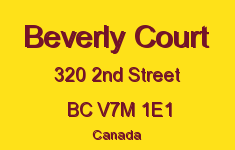Beverly Court 320 2ND V7M 1E1