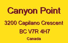 Canyon Point 3200 CAPILANO V7R 4H7