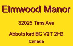 Elmwood Manor 32025 TIMS V2T 2H3